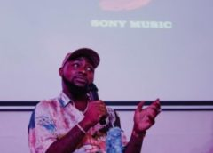 Exclusive Video From Davido's Private Album Listening Hosted By Sony Music West Africa