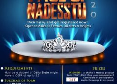 ARE YOU READY FOR- FACE OF NADESSTU NATIONAL( F.O.N.N) 2020 (CLICK FOR DETAILS)